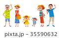 三世代家族・レジャー 35590632