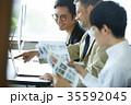 日本人 外国人 ビジネスの写真 35592045
