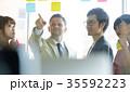 日本人 外国人 ビジネスの写真 35592223