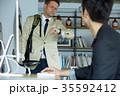ビジネス 外国人と日本人 35592412
