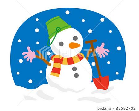 雪だるま 35592705