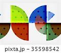 抽象的 ベクター デザインのイラスト 35598542