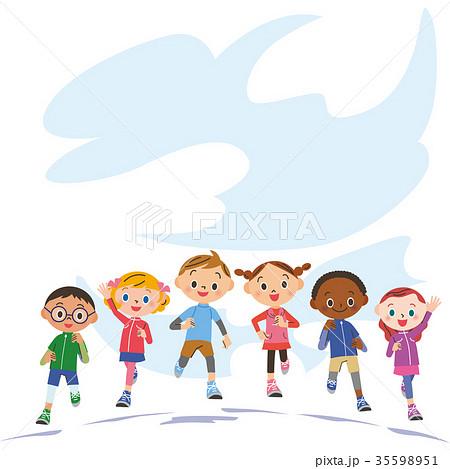 子供マラソン 35598951