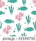 魚 パターン 柄のイラスト 35599730