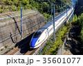 疾走する北陸新幹線E7系 35601077