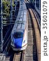 疾走する北陸新幹線E7系 35601079