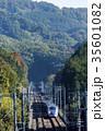 疾走する北陸新幹線E7系 35601082