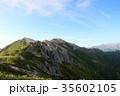 燕山荘 燕岳 山の写真 35602105