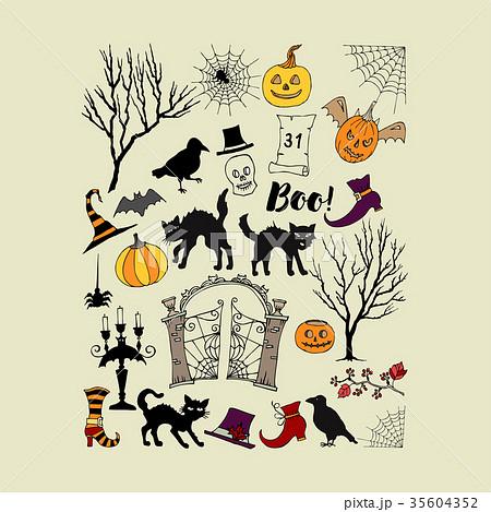 Halloween background 35604352