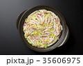 鍋物 豚肉 白菜の写真 35606975