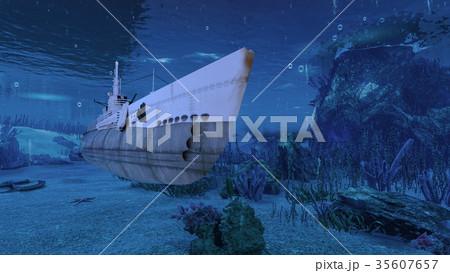 潜水艦 35607657