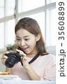 デジタルカメラ デジカメ 写真撮影の写真 35608899