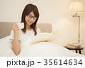 ライフスタイル 読書をする女性 35614634