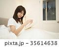 ライフスタイル 読書をする女性 35614638