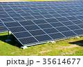 ソーラー メガソーラー 太陽光発電の写真 35614677