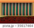 演舞場と定式幕イメージ 35617464