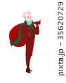 クリスマス 人 男のイラスト 35620729