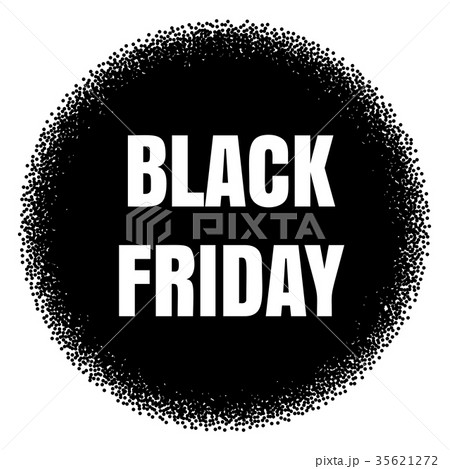 black friday sale template eps 10 vectorのイラスト素材 35621272