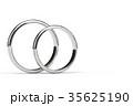 指輪 結婚指輪 CGのイラスト 35625190