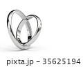 指輪 結婚指輪 CGのイラスト 35625194