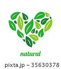 抽象的 エコ 生態のイラスト 35630378