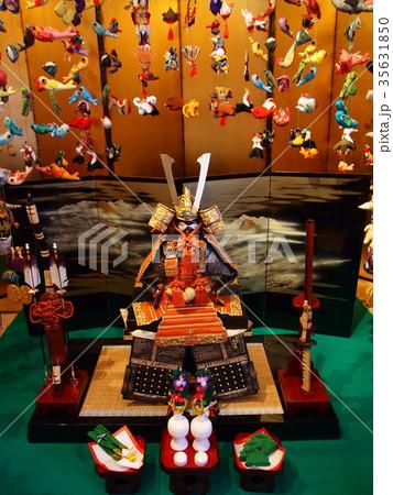 伊豆稲取の雛のつるし飾り 35631850