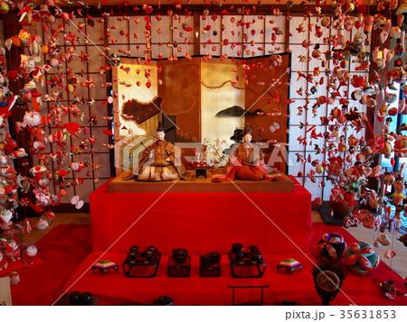 伊豆稲取の雛のつるし飾り 35631853