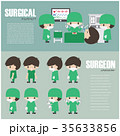 医師 医者 人々のイラスト 35633856