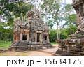 世界遺産アンコール遺跡群 Chau Say Tevoda カンボジア・シェムリアップ 35634175