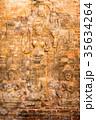 レリーフ 世界遺産アンコール遺跡群 Prasat Kravan カンボジア・シェムリアップ 35634264