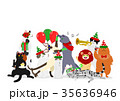 ベクター 猫 パーティーのイラスト 35636946