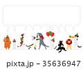 ベクター 猫 クリスマスのイラスト 35636947