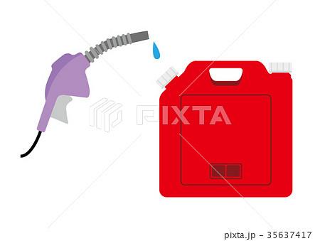 ポリタンクと給油ガン 35637417