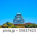 秋の大阪城 35637423