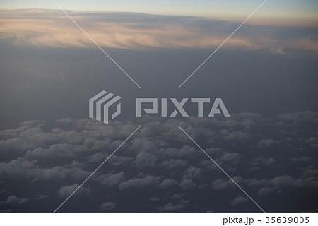 台湾高雄空港から神戸空港への空から見た景色 35639005