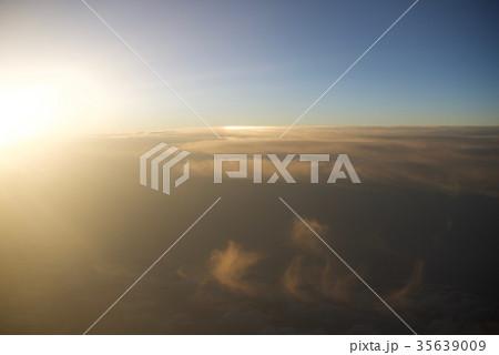 台湾高雄空港から神戸空港への空から見た景色 35639009