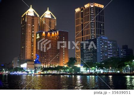 台湾高雄観光での一日/愛河 35639051