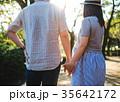 夫婦 マタニティ 顔なしの写真 35642172