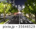 愛知県 名古屋市 桜通夜景 35646529