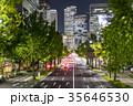 愛知県 名古屋市 桜通夜景 35646530