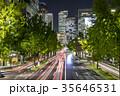 愛知県 名古屋市 桜通夜景 35646531