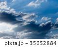 雲 青空 空の写真 35652884
