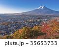 富士山 紅葉 風景の写真 35653733