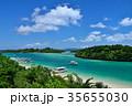 石垣島 川平湾 海の写真 35655030