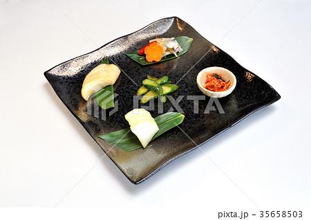 和食 漬け物盛り合わせの写真素材 [35658503] - PIXTA