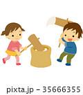 餅つき 35666355