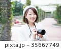 カメラ 女性 35667749