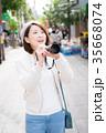 カメラ 女性 35668074