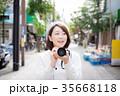 カメラ 女性 35668118