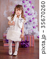 Young brunette dolly lady girl stylish dressed  35670260